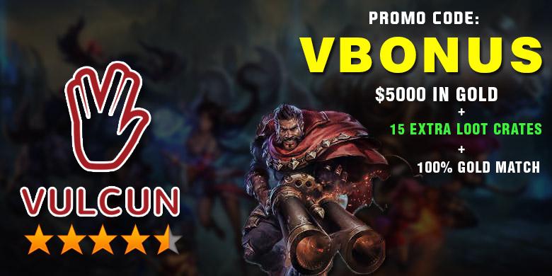 Vulcun Review and Promo Code - VBONUS - Top Free Bonus
